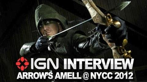 Arrow - Stephen Amell on Deathstroke - NYCC 2012