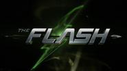 Flash vs. Arrow title card