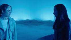 Nora and Sara in Mallus's dimension