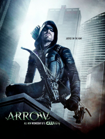 File:Arrow season 5 poster - Justice on the Hunt.png