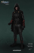 Hourman concept art