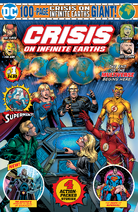 Crisis on Infinite Earths Giant 1 portada