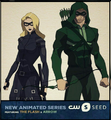 Vixen - New Animated Series Featuring The Flash & Arrow.png