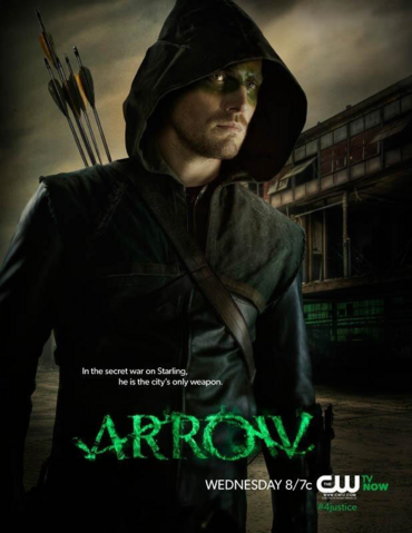 File:Arrow promo - In the secret war on Starling, he is the city's only weapon.png