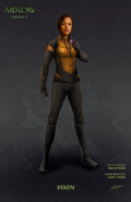 Arrow season 4 - Vixen concept artwork