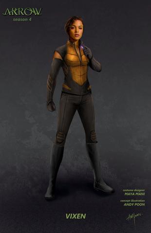 File:Arrow season 4 - Vixen concept artwork.png