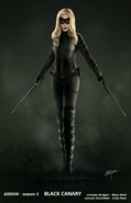 Black Canary concept artwork