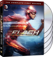 The Flash - The Complete First Season region 1 cover