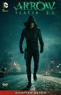 Arrow Season 2.5 chapter 7 digital cover