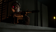 Deadshot after shooting Malcolm Merlyn