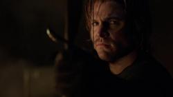 Oliver ameaçando Fyers