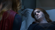 Kara comforts Bizarro
