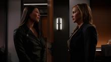 Emiko tells Laurel that nobody would believe her word against hers