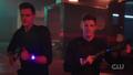 Barry and Ralph load their stun guns.png