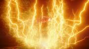 Flash i The Ray niszczą Red Tornado (6)