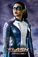 Iris West costumed first look