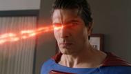 Superman (Earth-96) using heat vision