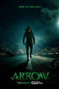 Arrow season 3 poster - saving a city takes a toll