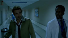 John and Manny in St. Catherine's Hospital