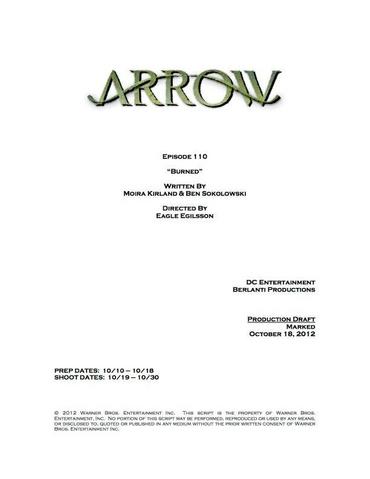 File:Arrow script title page - Burned.png