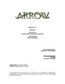 Arrow script title page - Burned.png
