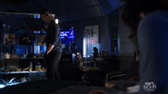 Ray and Nora in their quarters on the Waverider