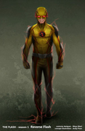 Reverse-Flash concept art 2