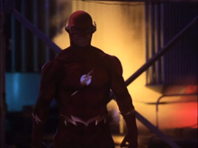 The Flash faces off with Pike