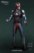 Legends of Tomorrow T2 - Citizen Steel Concept Art