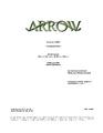 Arrow script title page - Thanksgiving.png