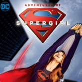 Adventures of Supergirl digital logo