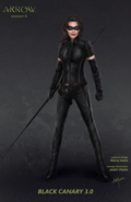 Black Canary concept art