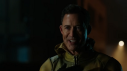 Eobard taunting Barry