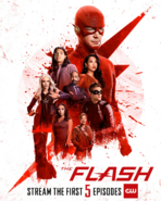 The Flash season 6 poster - Stream the First 5 Episodes