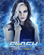 The Flash season 4 poster - Frost Warning!