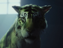 Gar transformado en Tigre
