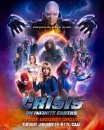 Crisis en Tierras Infinitas - Poster 2