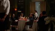 Lena Luthor and Rhea eat together dinner