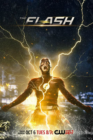 File:The Flash Season 2 poster - Season premiere October 6.png