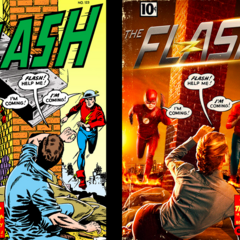 """The Flash of Two Worlds"""
