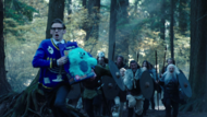 Young Martin Stein running from Vikings