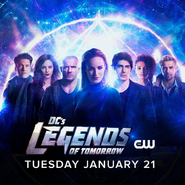 DC's Legends of Tomorrow season 5 key art