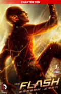 The Flash Season Zero chapter 10 digital cover