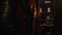 Dinah torturing Declan