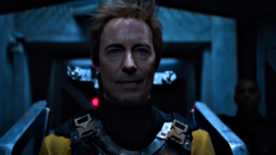 Eobard in his execution.