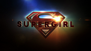 Supergirl season 4 title card