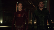 Flash and Arrow second fight
