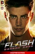 The Flash Season Zero chapter 16 digital cover