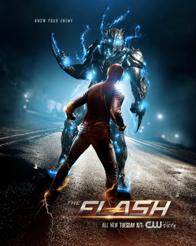 File:The Flash season 3 poster - Know your enemy.png