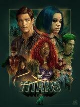 Titans Poster Temporada 1
